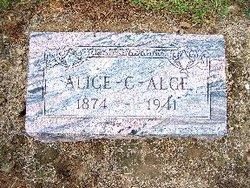 Alice C. <i>Swank</i> Alge