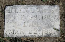 Helen <i>Letitia</i> Allen
