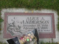 Alice Alexandria <i>Cushing</i> Anderson