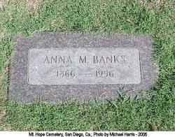 Anna M Banks
