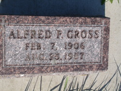 Alfred P Gross