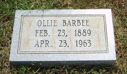 Ollie Eve <i>Cook</i> Barbee