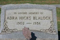 Adra Hicks Blalock