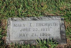 Mary Elizabeth Bessie <i>Muse</i> Beckwith
