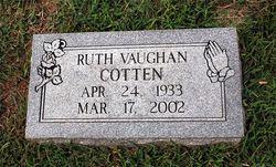Ruth <i>Vaughan</i> Cotten