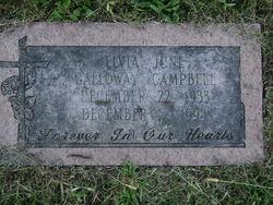 Elvia June <i>Galloway</i> Campbell