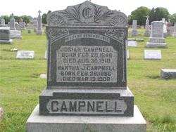 Martha Jane <i>Hall</i> Campnell