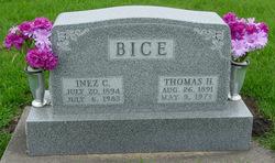 Cora Inez <i>Springsteen</i> Bice