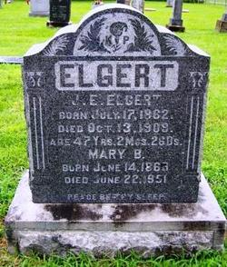 Mary B <i>Frank</i> Elgert
