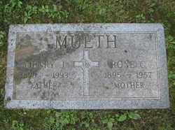 Rose Catherine <i>Friedlin</i> Mueth