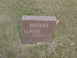 Wilhelmina Fredericka Ernestina <i>Steinborn</i> Schultz