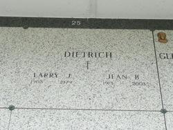 Lawrence Joseph Dietrich, Sr