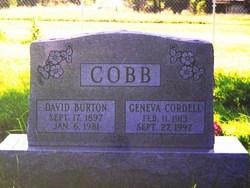 David Burton Cobb