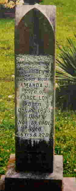 Amanda Jane <i>Lady</i> Long