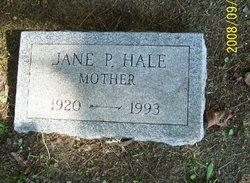 Jane P. <i>Hale</i> Alexander