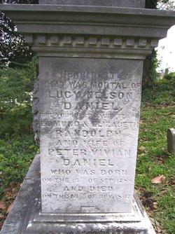 Lucy Nelson <i>Randolph</i> Daniel