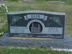 Darlene <i>Purser</i> Bair