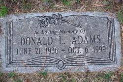 Donald L Adams