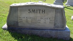 Sallie <i>Boswell</i> Smith