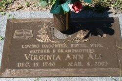 Virginia Ann <i>Villareal</i> Ali