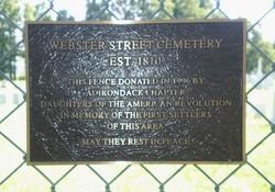 Webster Street Cemetery