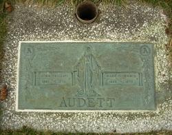 Mary Florence <i>Cunningham</i> Audett