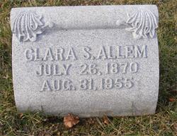 Clara <i>S</i> Allem