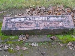 Adla Mathilda <i>Carlson</i> Anderson