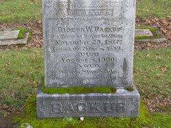 Gideon W Backus
