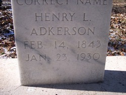Henry L. Adkerson