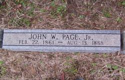 John Washington Page, Jr
