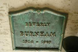 Beverly Burnham