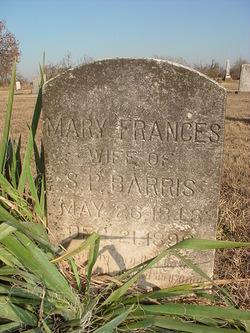 Mary Frances <i>Hart</i> Barris