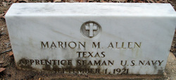 Marion M Allen