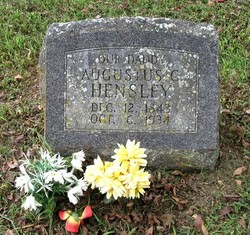 Augustus Curtis Gus Hensley