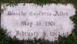Blanche <i>Caveness</i> Allen