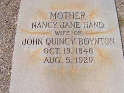Nancy Jane <i>Hand</i> Boynton