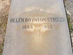 Helen <i>Boynton</i> Stroud
