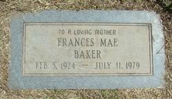 Frances Mae <i>Cargill</i> Baker