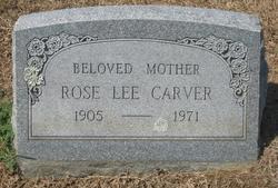 Rose Lee Carver