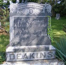 Eliza <i>Kinnaird</i> Deakins