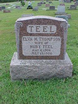 Elva May <i>Thompson</i> Teel