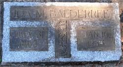 Ida May <i>Ayer</i> Balderree