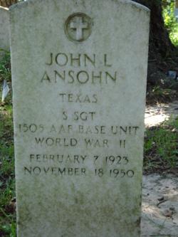 John L Ansohn