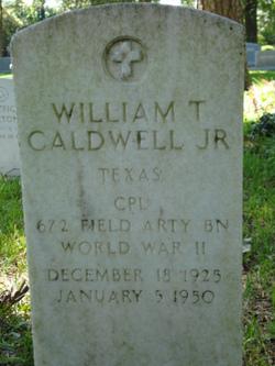 William T Caldwell, Jr
