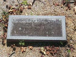 Myrtle M Marshall