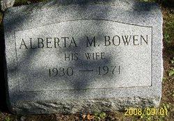 Alberta M. <i>Bowen</i> Lafley