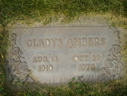 Gladys <i>Huntley</i> Ambers