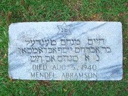 Mendel Hyman Abramson