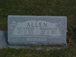 Lucy May <i>Kofoed</i> Allen